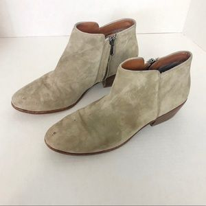 Sam Edelman | Petty Gray Suede Booties